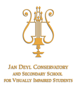 Jan Deyl Conservatory and Secondary School for Visually Impaired Students - logo